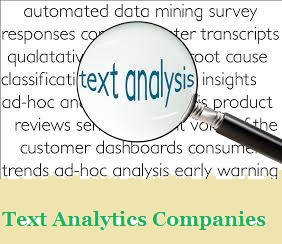 Text Analytics Companies