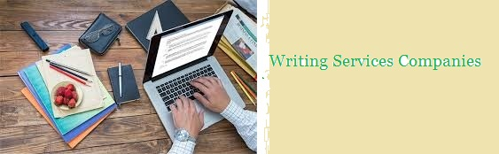 Writing Services Companies