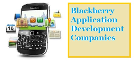 Blackberry Mobile Application Development Companies