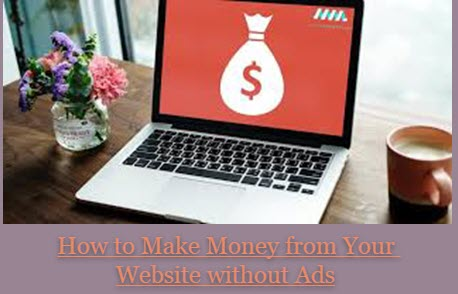 Can I Make Money from my Website without Using Advertising Programs