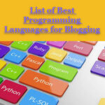 List of Best Programming Languages for Blogging