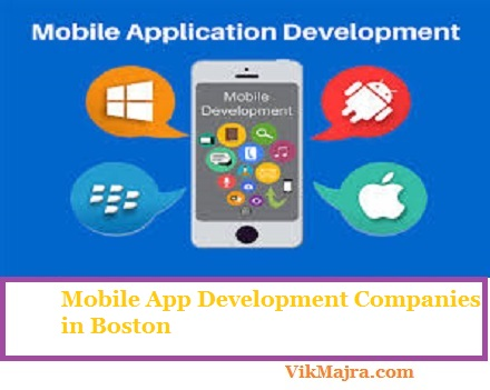 Mobile App Development Companies in Boston