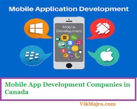 Mobile App Development Companies in Canada
