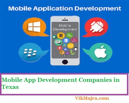 Mobile App Development Companies in Texas