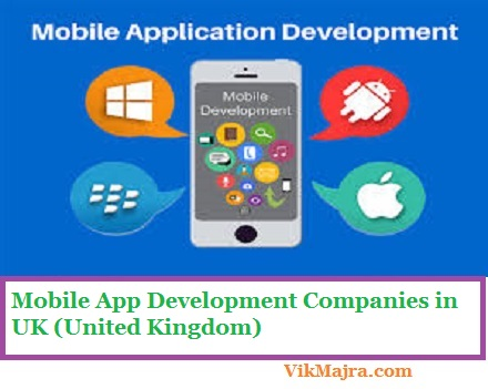Mobile App Development Companies in UK (United Kingdom)