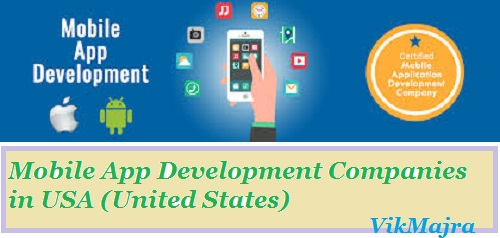 Mobile Application Development Companies in the U.S.A. (the United States of America)