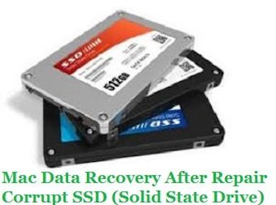Recover Mac Data After Repair Corrupt SSD (Solid State Drive)